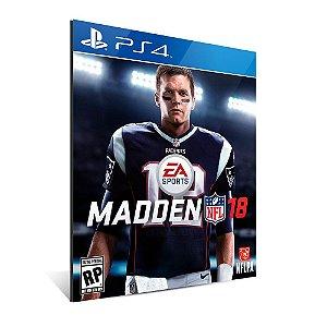 Madden NFL 18 Edição Padrão - PS4 - Mídia Digital