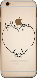 Capinha para celular - Follow Your Heart