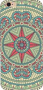 Capinha para celular - Mandala Estrela