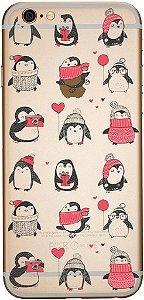 Capinha para celular Pinguins