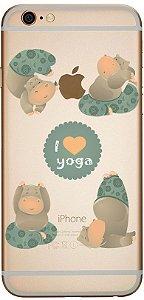 Capinha para celular - Eu amo Yoga