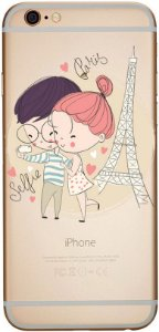 Capinha para celular - Selfie Paris