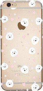 Capinha para celular - Urso Coração