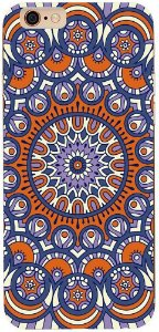 Capinha para celular - Mandala Azul