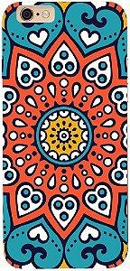 Capinha para celular - Mandala Flor