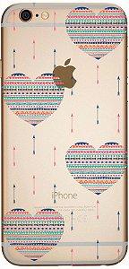 Capinha para celular - Coração Flechas