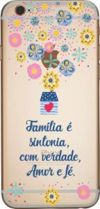 Capinha para celular - Familia é Sintonia
