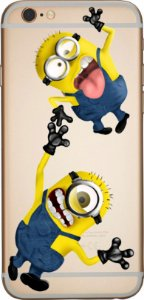 Capinha para celular -  Crazy Minions