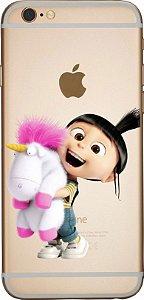 Capinha para celular - Familia Minions Agnes