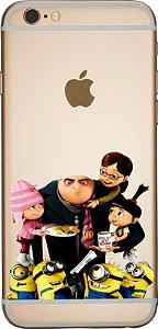 Capinha para celular -  Família Meu favorito Minions 2
