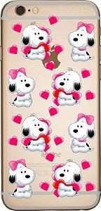 Capinha para celular -   Love Snoopy