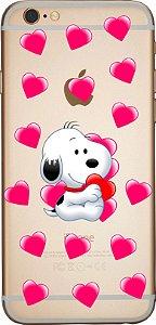 Capinha para celular -  Paixão de Snoopy