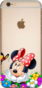 Capinha para celular -  Minnie e Flores