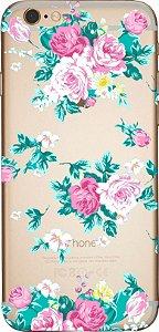 Capinha para celular- Rosas e Rosas