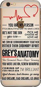 Capinha para celular - Grey´s Anatomy 03