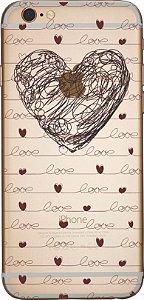 Capinha para celular -  Coração in love
