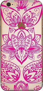 Capinha para celular - Mandala Rosa 03