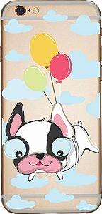 Capinha para celular -Dog Balões