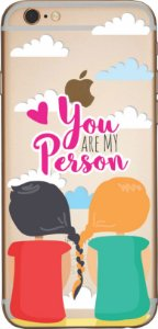 Capinha para celular - You are my person Grey´s Anatomy