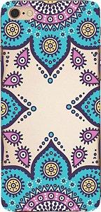 Capinha para celular - Mandala Azul 03