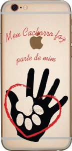 Capinha para celular - Pata na Mão