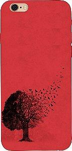 Capinha para celular - Árvore e Passarinhos