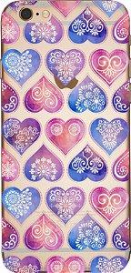 Capinha para celular - Mandala coração