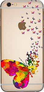 Capinha para celular - Borboletas  Flutuantes