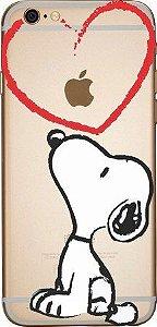 Capinha para celular - Snoopy