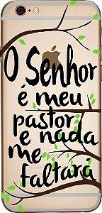 Capinha para celular -  O Senhor é meu Pastor e Nada Me Faltará