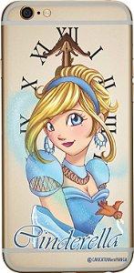 Capinha para celular - Princesa Cinderela sem fundo