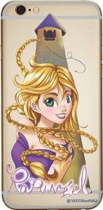 Capinha para celular - Princesa Rapunzel sem fundo