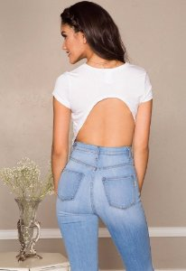 Blusa Backless