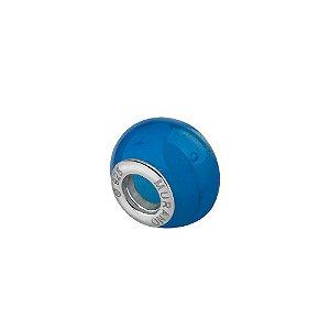 Berloque separador murano azul