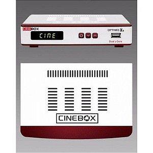CINEBOX OPTIMO X2 - ACM IKS SKS WIFI - Lançamento 2017
