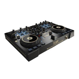 CONTROLADORA HERCULES RMX2 DJ PRETO OURO