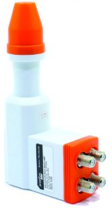 Lnb Ku Lnb Kucom 4 Saídas Nano Anti-chuva Premium Box