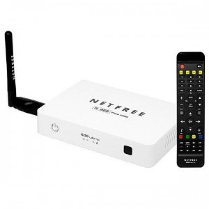 Receptor Net Free X-200 Ultra HD Wi-Fi Cabo