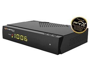 Receptor Az-America S1006 HD - FTA   LANÇAMENTO  AZ AMERICA