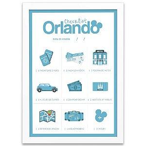 Checklist para Orlando