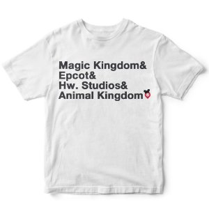 Camiseta parques da Disney