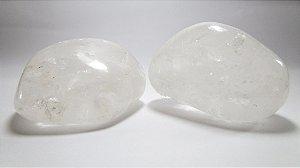 Cristal de Quartzo Transparente Rolado (Unidade)