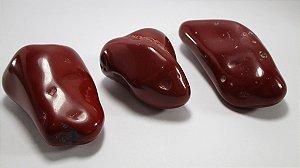 Jaspe Vermelha Rolada (Kit 3 Peças)