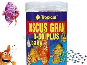 RAÇAO TROPICAL DISCUS GRAN D50 PLUS BABY 52G