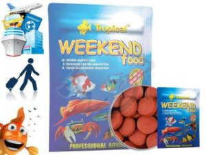 RAÇAO TROPICAL WEEKEND FOOD 20G - SACHET