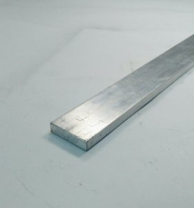 "Barra Chata Aluminio 3/4"" X 1/4"" (1,9cm X 6,35mm)"