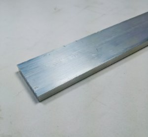 "Barra Chata Aluminio 1.1/4"" X 1/4"" (3,17cm X 6,35mm)"