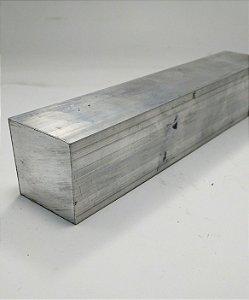 """Vergalhão quadrado de alumínio 1.1/2"""" (3,81CM)"""