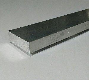 "Barra Chata Aluminio 1.1/2"" X 5/8"" (3,81cm X 1,58cm)"