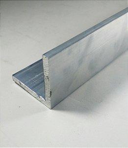 """Cantoneira de Aluminio 2"""" X 1/4"""" (5,08cm X 6,35mm)"""